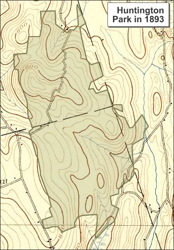 Historical Map Comparisons - Parks in Southwestern Connecticut on