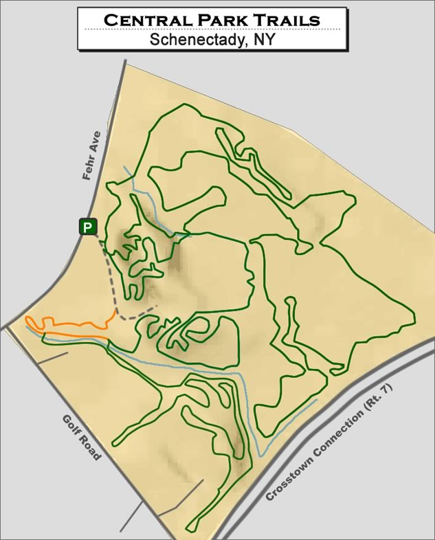 Schenectady Central Park Trails